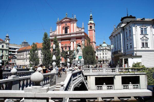 Cidade de Liubliana - Eslovênia