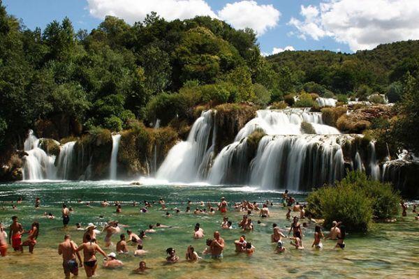 Parque Nacional de Krka e Sibenik