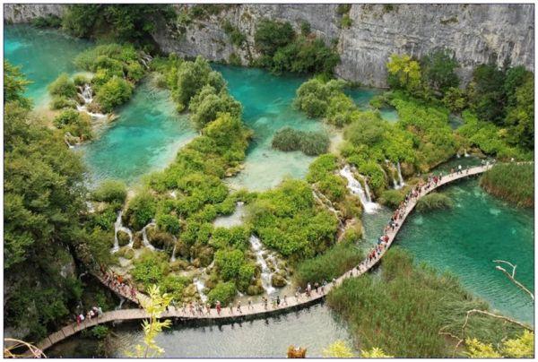 Parque Nacional de Plitvice - Um dos mais belos do mundo!